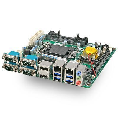 Jetway NF693T Mini ITX Motherboard, Intel H110, LGA1151, TPM 1.2, -