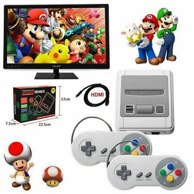 HDMI Nintendo SUPER Classic Edition Konsole Mini Retro 621 Spiele 2 Spieler Neu