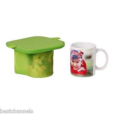 3d Sublimation Silicone Mold Mug Clamp For 11oz Mugs Heat Transfer Print