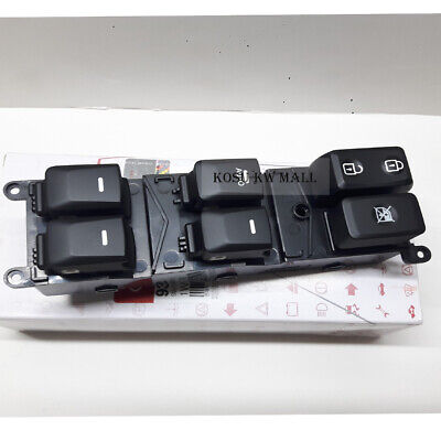 Genuine Driver Side Power Window Switch 935701W155 for 2012-2014  Kia RIO