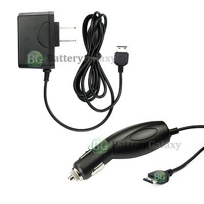 HOT! NEW WALL HOME+CAR CHARGER CELL PHONE FOR SAMSUNG SGH-A767 PROPEL 500+ (A767 Phone)