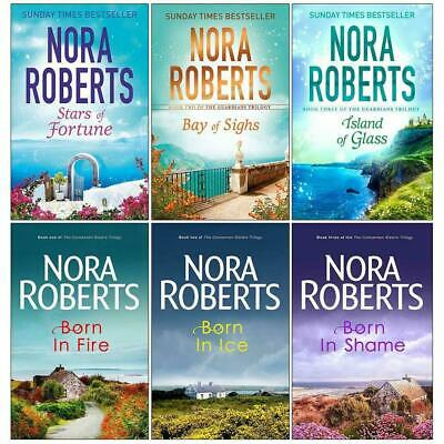Guardians Trilogy and Concannon Sisters Collection 6 Books Set Nora Roberts