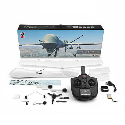 MQ-9 EPP 565mm Wingspan 2.4G 3CH DIY Glider RC Airplane RTF Beginner Predator US (Predator Rc Plane)