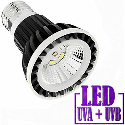 Full Spectrum LED Sun Lamp/Bulb/Light Reptile Amphibian Turtle Use (4W LAMP) Pet