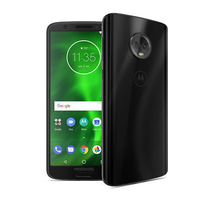 Brand New Motorola Moto G6 32GB Smartphone Black (UNLOCKED) Use with any GSM