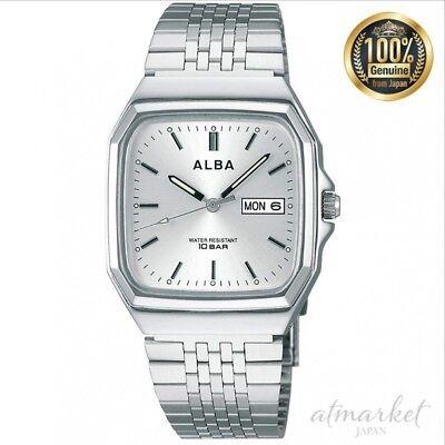 ALBA Reloj Plata Aigt 011 Hombres en Caja De Japón