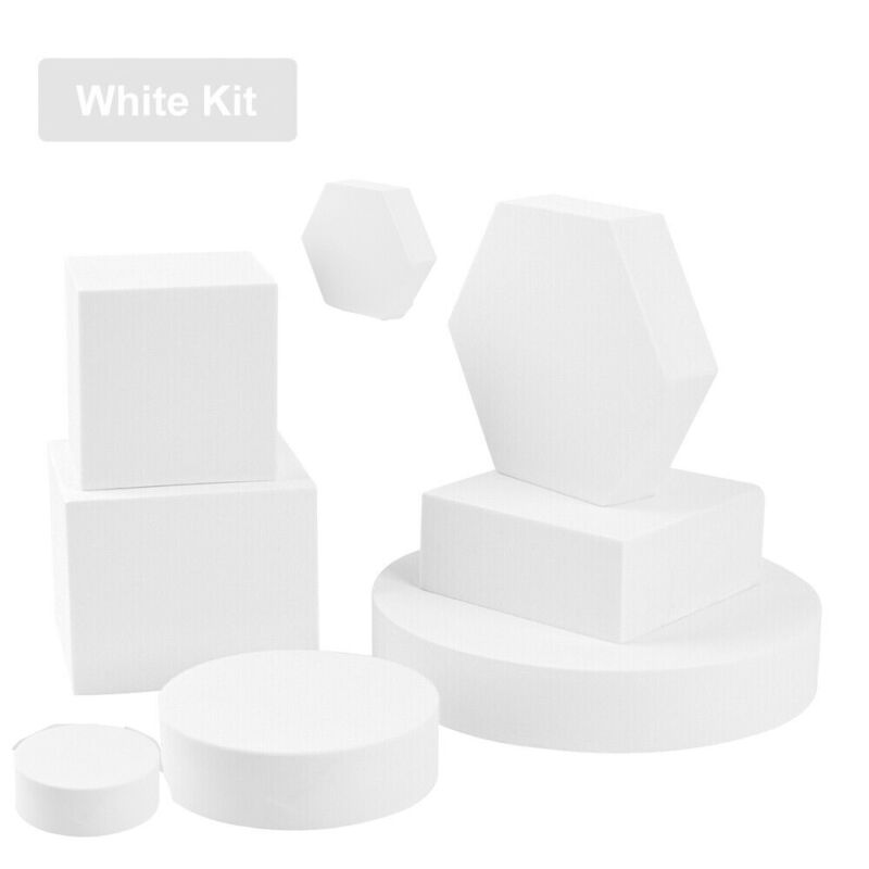 8in1 INS Photography Cube Photo Shooting Foam Geometric Props More Color Option