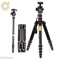 Qzsd Q666c 158cm 5 Sezioni 8kg Carbonio Fibra Fotocamera Video Treppiedi -  - ebay.it
