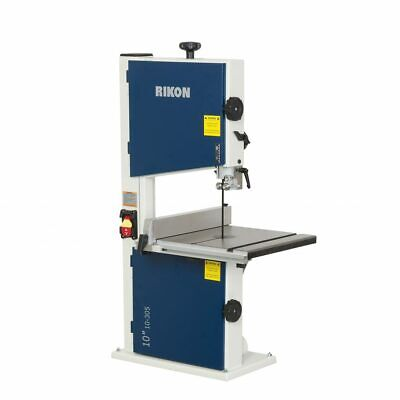Rikon Power Tools 10-305 10-inch 110 Volt 0.33 Horsepower Bandsaw With Fence