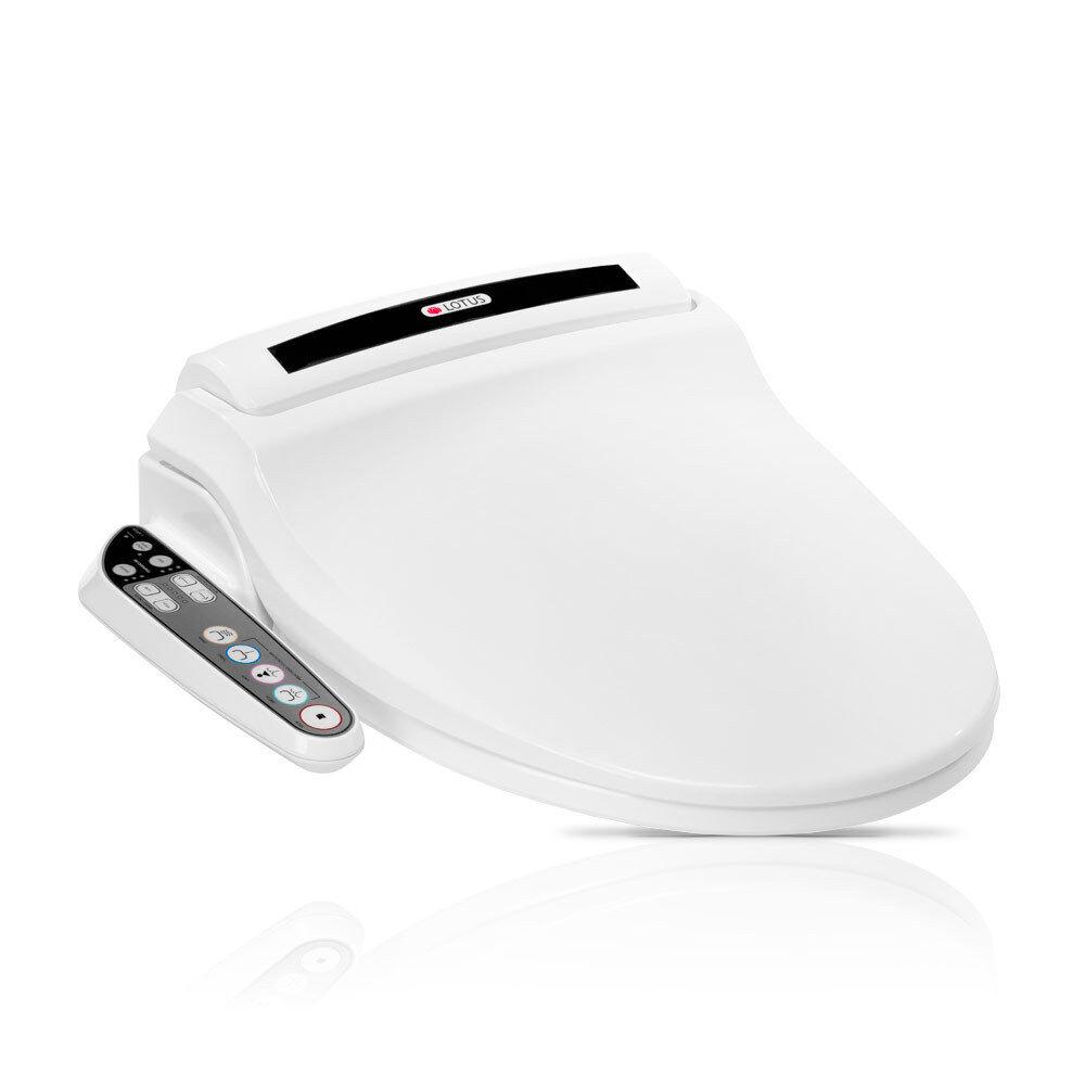 Lotus ATS-800 Advanced Smart Toilet Seat Bidet - White with 2 years warranty