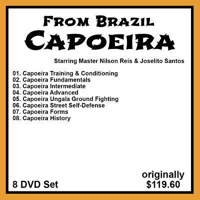 Capoeira with Nilson Reis and Joselito Santos (8 DVD Set)