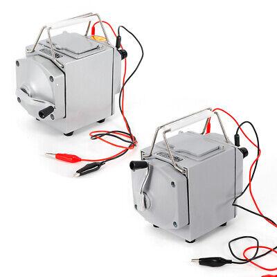 Portable Megger Insulation Resistance Meter W Wire Tester Plastic Shell 1000v