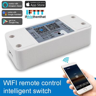 230V WiFi Wireless Smart Switch Schalter Sockel Controller für Alexa Google Home