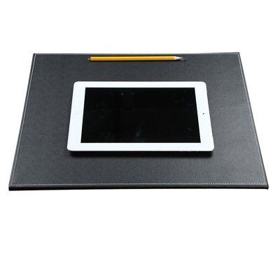 16 X14 Desk Blotter Leatherette Laptop Mat Large Protector Mouse Pad Pen Slot