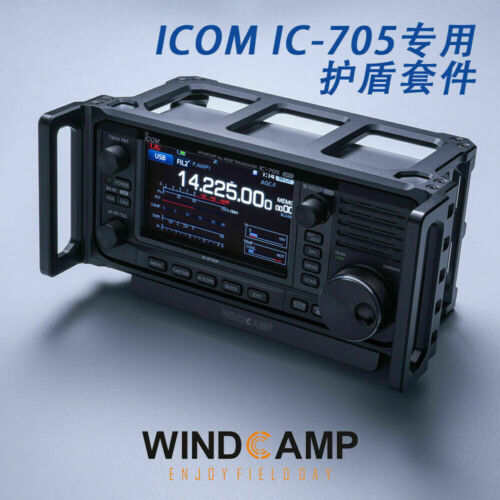 WINDCAMP ARK-705 Shield case Carry Cage for ICOM 705 IC-705