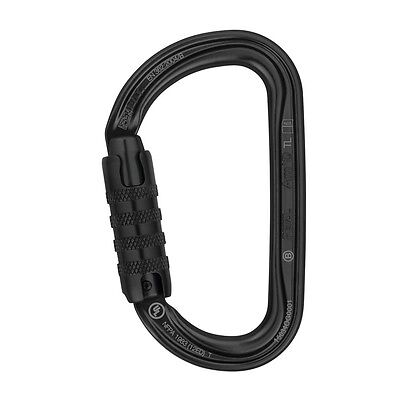 Petzl AM'D H-frame TRIACT LOCKING Black carabiner for tactical PM34ATLN NEW 2016