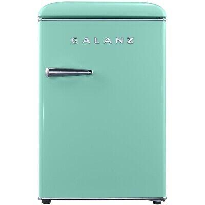 Galanz - Retro 2.5 Cu. Ft. Mini Fridge - Surf Green