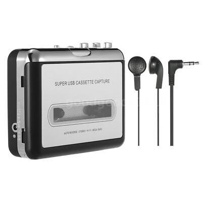 Tragbare Stereo Walkman USB Digital Tape-zu-MP3/PC Konverter Kassettenrecorder