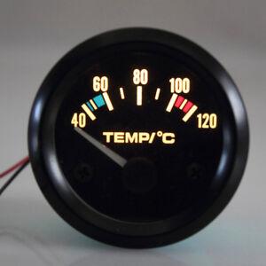 2 52mm Car Triple Gauge Motorcycle Oil Pressure Water Temp Voltmeter
