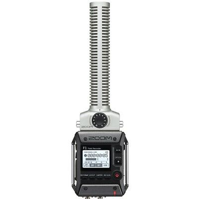Zoom F1-SP Field Audio Recorder 2-Ch Hi-Res w/ SGH-6 Shotgun Mic + Shockmount