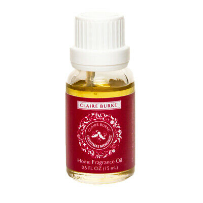 Claire Burke Christmas Memories Home Fragrance Oil for room diffuser 15 (Claire Burke Christmas Memories)
