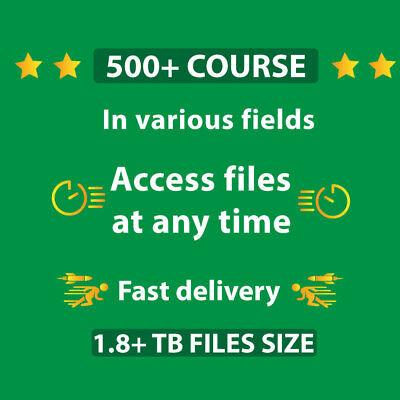 500 Course Online Course Bundle Worth Make Money Size 1.8 Tb