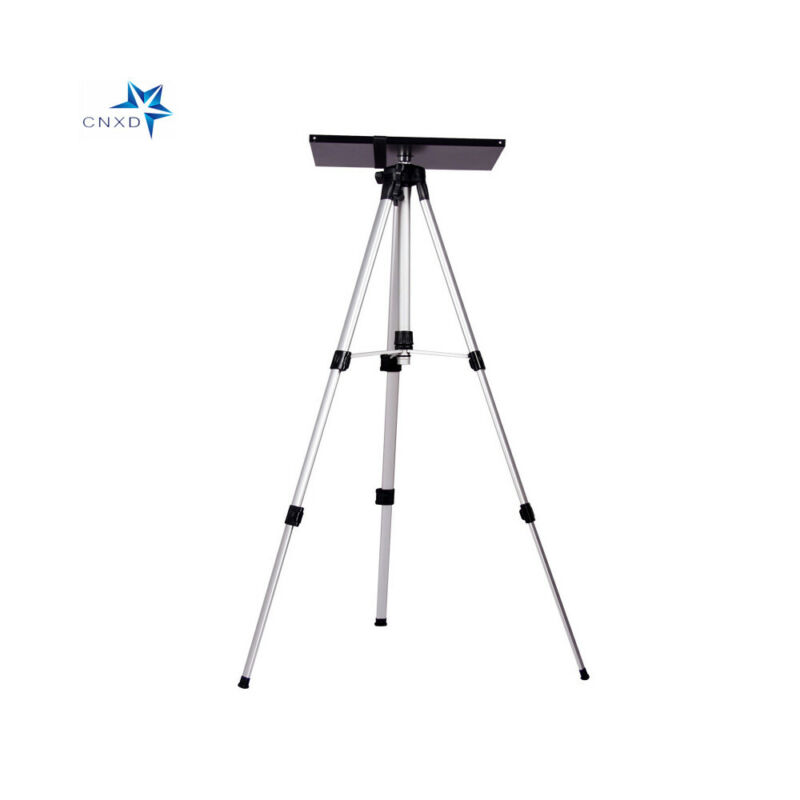 Adjustable Tripod Stand With Tray Used for Laptop Projector Camera Office Home