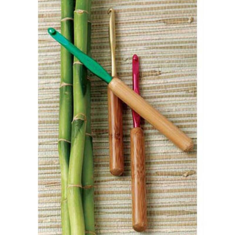 Susan Bates® Bamboo & Aluminum—Set of 10 Crochet Hooks