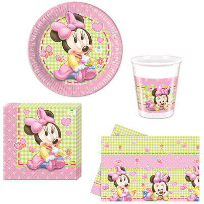 Disney Baby Minnie Mouse Kindergeburtstag Auswahl Minnie Maus Party Dekoration