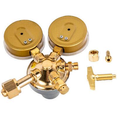 Pressure Oxygen Regulator Cylinder Welding Gas Gauge Cutting Torch 2 Gauges