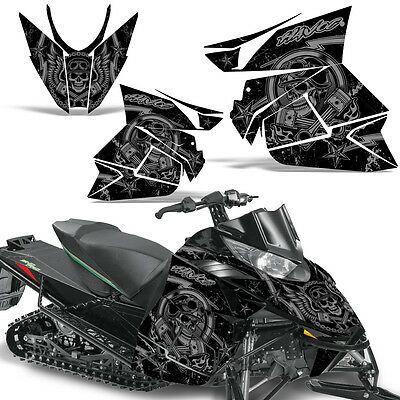 Arctic Cat Sno Pro 500 Sled Wrap Snowmobile Decal Graphics Kit 2012-2016 HAVOC S