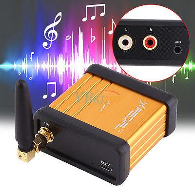 Bluetooth 4.2 Audio Receiver Stereo Hi-Fi Box Adapter RCA Output Support APTX EM