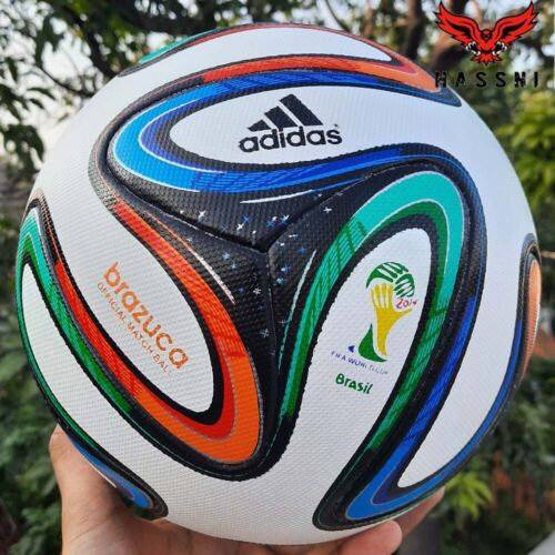 Adidas Brazuca Official Soccer Match Ball Size 5 - 2014 FIFA World Cup Foot Ball
