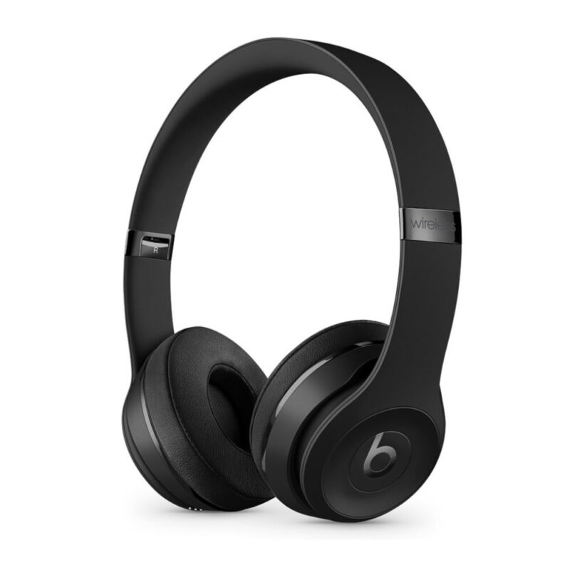 Beats by Dr. Dre Solo 3 Wireless On Ear Headphones Matte Black Icon Collection
