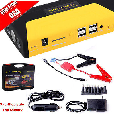 68800mah car jump starter emergency sos motor