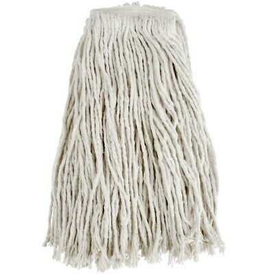 - Newell & Sons Wide Band Cut End Wet Mop White Cotton | 12/Case