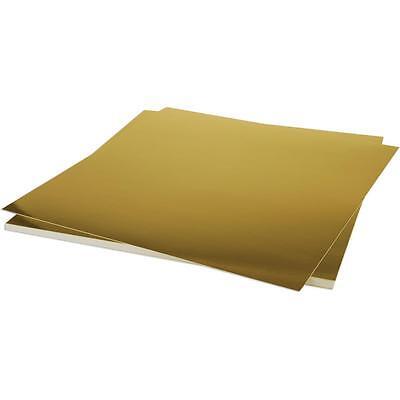 - Bazzill Scrapbooking Foil Shiny Gold Paper 12x12