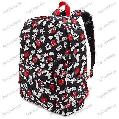 Mickey Mouse Backpack For Adults (DISNEY Store BACKPACK for Adults MICKEY MOUSE Print BLACK)
