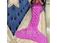 Kids Mermaid Blanket - Pink