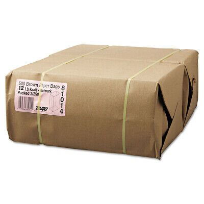 Paper Bags & Sacks #12 Paper Grocery, 57lb Kraft, Extra-Heavy-Duty 7 1/16x4 1/2