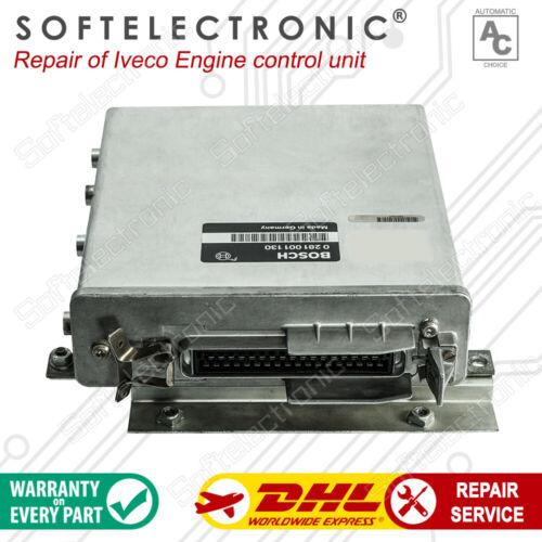 Iveco Engine  ECU Bosch  0281001205  0 281 001 205  Repair Service