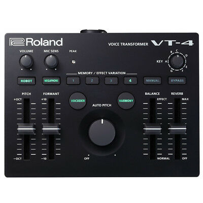 Roland VT4 VT-4 Voice Transformer Compact DJ Vocal Effects Box
