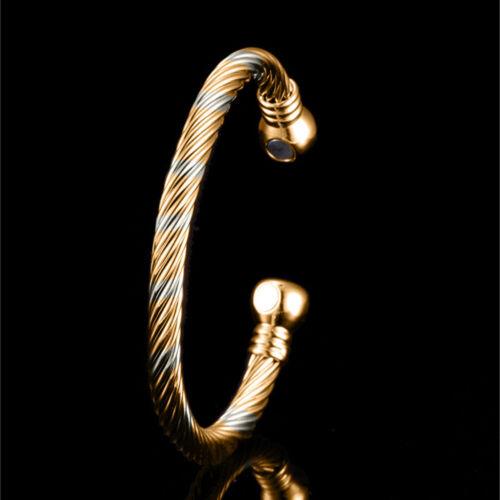 Golf Pure Copper Magnetic Bracelet Bangle Arthritis Balance Golfers Pain Relief
