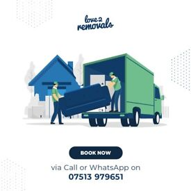 CHINGFORD SHORT NOTICE FROM £14.99 MAN AND VAN with LOVE2REMOVALS /Sofa Move