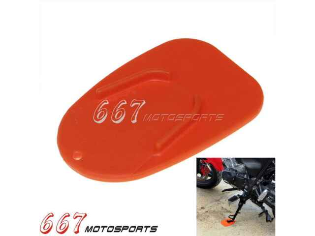 Kickstand Side Stand Plate Pad Base for Motorcycle Motorcross Supermoto Bike