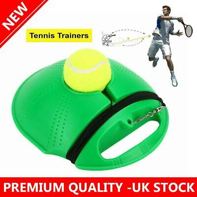 Single Tennis Trainer Training Practice Rebound Ball Back Base Tool 1 Ball 2020