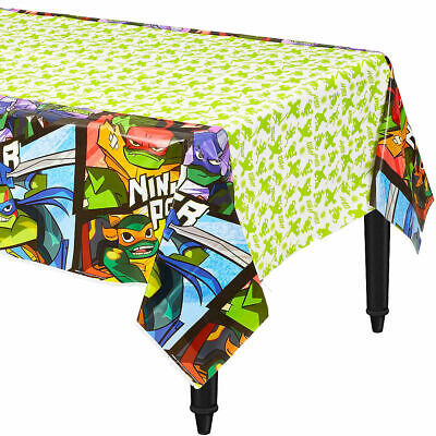 Rise of the TEENAGE MUTANT NINJA TURTLES Table Cover ~ Birthday Party Supplies