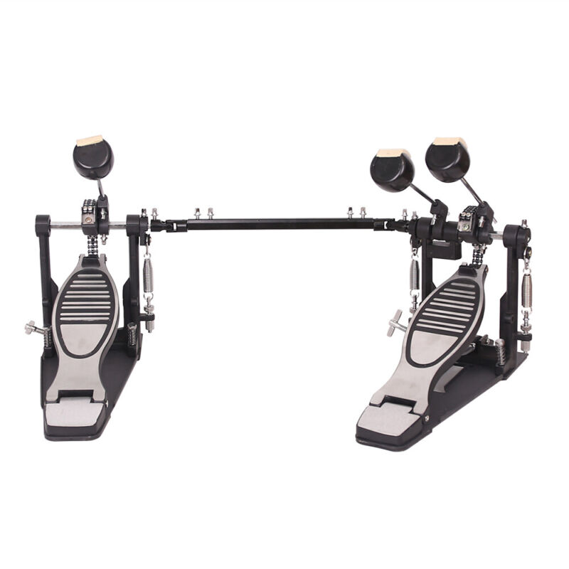 Double Kick Drum Pedal Professional Double Bass Drum Pedalfor Jazz Metal Music