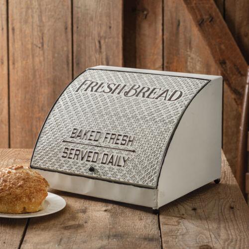 Farmhouse Kitchen Counter Bread Box Bin Storage Country Vintage Style Decor New