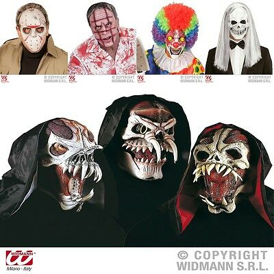 Clown Zombie Halloween (Halloween Maske Monster Clown Narbengesicht Zombie Totenkopf Horror)